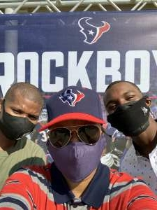 Legacy Blue attended Houston Texans vs. Jacksonville Jaguars - NFL on Oct 11th 2020 via VetTix