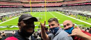 Jason attended Houston Texans vs. Jacksonville Jaguars - NFL on Oct 11th 2020 via VetTix
