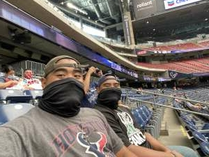 John A. attended Houston Texans vs. Jacksonville Jaguars - NFL on Oct 11th 2020 via VetTix