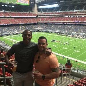 Tim attended Houston Texans vs. Jacksonville Jaguars - NFL on Oct 11th 2020 via VetTix