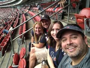 Noel attended Houston Texans vs. Jacksonville Jaguars - NFL on Oct 11th 2020 via VetTix