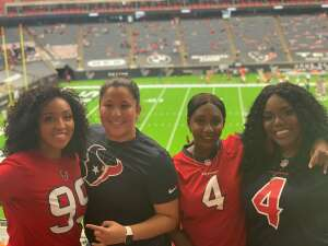 CDuran attended Houston Texans vs. Jacksonville Jaguars - NFL on Oct 11th 2020 via VetTix