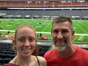 M. Myles  attended Houston Texans vs. Jacksonville Jaguars - NFL on Oct 11th 2020 via VetTix