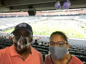 James attended Houston Texans vs. Jacksonville Jaguars - NFL on Oct 11th 2020 via VetTix