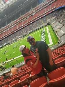 YN2J5 attended Houston Texans vs. Jacksonville Jaguars - NFL on Oct 11th 2020 via VetTix