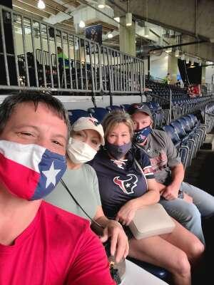 Fred Silva attended Houston Texans vs. Jacksonville Jaguars - NFL on Oct 11th 2020 via VetTix