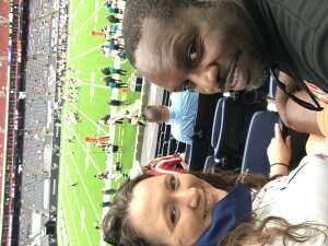 April attended Houston Texans vs. Jacksonville Jaguars - NFL on Oct 11th 2020 via VetTix