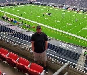 Rudy C. attended Houston Texans vs. Jacksonville Jaguars - NFL on Oct 11th 2020 via VetTix