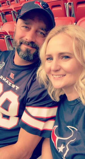 Chad Burch attended Houston Texans vs. Jacksonville Jaguars - NFL on Oct 11th 2020 via VetTix