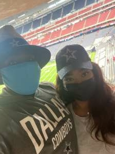 Terrence Franklin attended Houston Texans vs. Jacksonville Jaguars - NFL on Oct 11th 2020 via VetTix