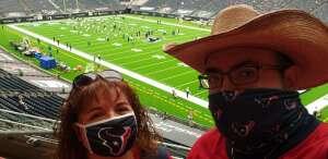 Wayne  attended Houston Texans vs. Jacksonville Jaguars - NFL on Oct 11th 2020 via VetTix
