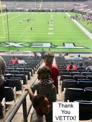 Fam attended Houston Texans vs. Jacksonville Jaguars - NFL on Oct 11th 2020 via VetTix
