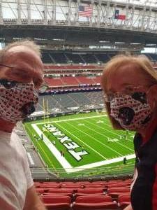 Gary  attended Houston Texans vs. Jacksonville Jaguars - NFL on Oct 11th 2020 via VetTix