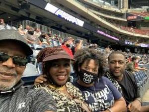 Stacey J attended Houston Texans vs. Jacksonville Jaguars - NFL on Oct 11th 2020 via VetTix