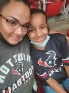 Mrl attended Houston Texans vs. Jacksonville Jaguars - NFL on Oct 11th 2020 via VetTix