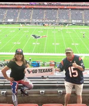 MSgt Ed Kraft attended Houston Texans vs. Jacksonville Jaguars - NFL on Oct 11th 2020 via VetTix