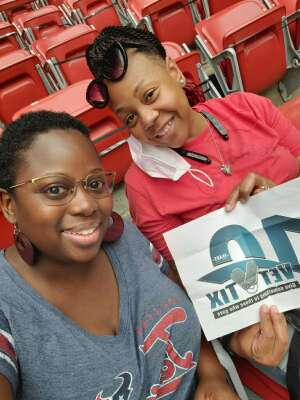 Seretha attended Houston Texans vs. Jacksonville Jaguars - NFL on Oct 11th 2020 via VetTix