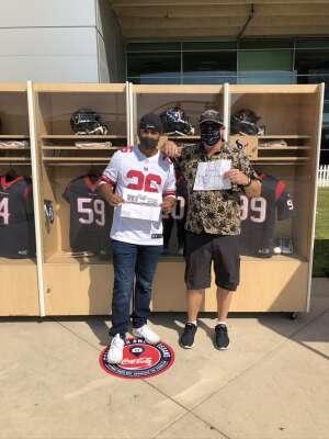 John Sullivan attended Houston Texans vs. Jacksonville Jaguars - NFL on Oct 11th 2020 via VetTix