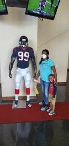 Gurley Family attended Houston Texans vs. Jacksonville Jaguars - NFL on Oct 11th 2020 via VetTix