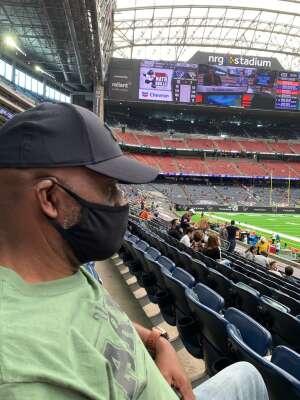 MSG Fisher attended Houston Texans vs. Jacksonville Jaguars - NFL on Oct 11th 2020 via VetTix