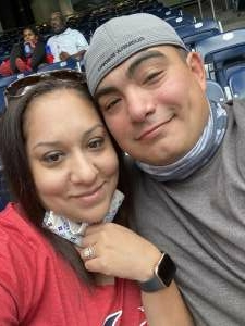 Adrian & Veronica Alcorta attended Houston Texans vs. Jacksonville Jaguars - NFL on Oct 11th 2020 via VetTix