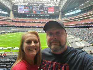 Jim attended Houston Texans vs. Jacksonville Jaguars - NFL on Oct 11th 2020 via VetTix