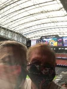Robert attended Houston Texans vs. Jacksonville Jaguars - NFL on Oct 11th 2020 via VetTix