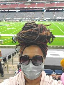 Shy attended Houston Texans vs. Jacksonville Jaguars - NFL on Oct 11th 2020 via VetTix