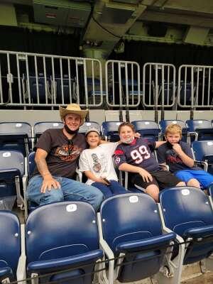 Scott attended Houston Texans vs. Jacksonville Jaguars - NFL on Oct 11th 2020 via VetTix