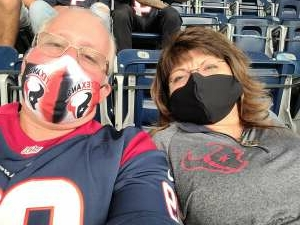 Rios  attended Houston Texans vs. Jacksonville Jaguars - NFL on Oct 11th 2020 via VetTix
