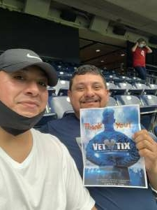 dondi attended Houston Texans vs. Jacksonville Jaguars - NFL on Oct 11th 2020 via VetTix
