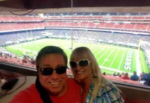 Tracy attended Houston Texans vs. Jacksonville Jaguars - NFL on Oct 11th 2020 via VetTix
