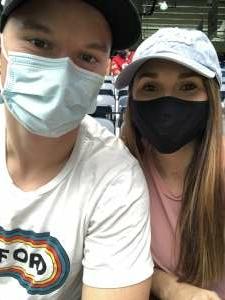 Lauren attended Houston Texans vs. Jacksonville Jaguars - NFL on Oct 11th 2020 via VetTix