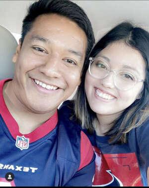 Marcos  attended Houston Texans vs. Jacksonville Jaguars - NFL on Oct 11th 2020 via VetTix
