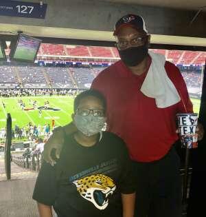 John attended Houston Texans vs. Jacksonville Jaguars - NFL on Oct 11th 2020 via VetTix