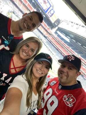 Jason C. attended Houston Texans vs. Jacksonville Jaguars - NFL on Oct 11th 2020 via VetTix
