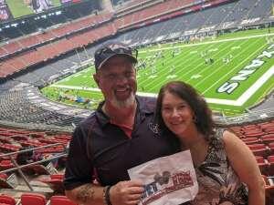 Michael Johnson  attended Houston Texans vs. Jacksonville Jaguars - NFL on Oct 11th 2020 via VetTix