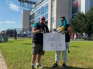 Deb attended Houston Texans vs. Jacksonville Jaguars - NFL on Oct 11th 2020 via VetTix