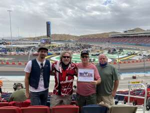 Corkmick attended 2020 NASCAR Cup Series Championship Race on Nov 8th 2020 via VetTix