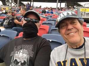 Yeoman 2 Nic Schaefer attended 2020 NASCAR Cup Series Championship Race on Nov 8th 2020 via VetTix