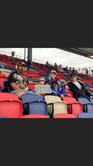 Mark  attended 2020 NASCAR Cup Series Championship Race on Nov 8th 2020 via VetTix