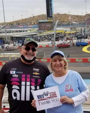 Michael T. attended 2020 NASCAR Cup Series Championship Race on Nov 8th 2020 via VetTix