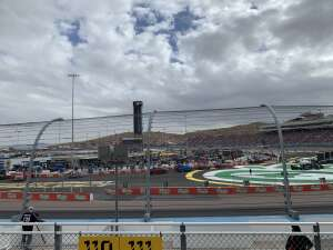 Drew attended 2020 NASCAR Cup Series Championship Race on Nov 8th 2020 via VetTix