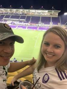 Geo attended Orlando City SC vs. New York City FC - Major League Soccer on Oct 14th 2020 via VetTix