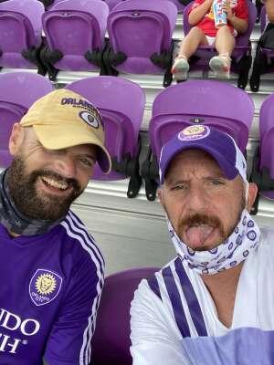 Jeffrey Dwinal attended Orlando City SC vs. New York City FC - Major League Soccer on Oct 14th 2020 via VetTix