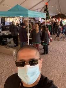 Christian attended Bankersmith's Christmas Market in Fredericksburg on Dec 4th 2020 via VetTix