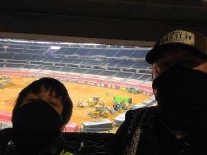 Kevin attended Monster Jam on Oct 25th 2020 via VetTix