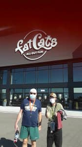 Panessa family attended Bowling FatCats on Oct 20th 2020 via VetTix