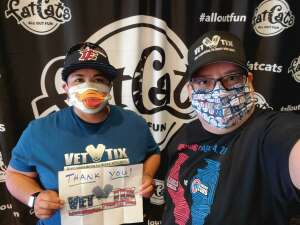 Denise  attended Fatcats Glow Golf on Oct 23rd 2020 via VetTix
