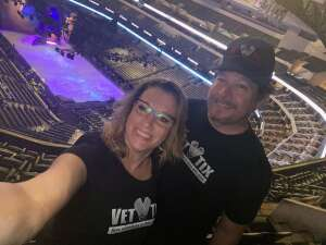 Steve & Heidi attended Disney on Ice Presents Dream Big on Nov 12th 2020 via VetTix